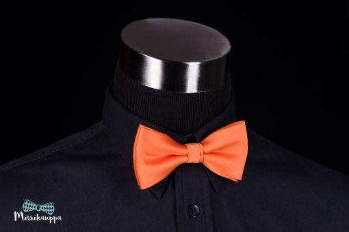 oranssi-rusetti-miesten-pukeutuminen-rusetti-mirri-solmuke-asuste-bow-tie-mirrikauppa